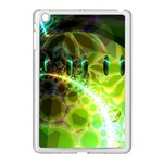 Dawn Of Time, Abstract Lime & Gold Emerge Apple iPad Mini Case (White)