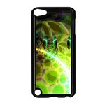 Dawn Of Time, Abstract Lime & Gold Emerge Apple iPod Touch 5 Case (Black)