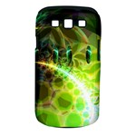 Dawn Of Time, Abstract Lime & Gold Emerge Samsung Galaxy S III Classic Hardshell Case (PC+Silicone)