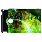 Dawn Of Time, Abstract Lime & Gold Emerge Apple iPad 2 Flip 360 Case