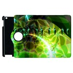 Dawn Of Time, Abstract Lime & Gold Emerge Apple iPad 3/4 Flip 360 Case