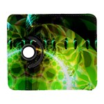Dawn Of Time, Abstract Lime & Gold Emerge Samsung Galaxy S  III Flip 360 Case