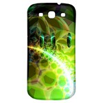 Dawn Of Time, Abstract Lime & Gold Emerge Samsung Galaxy S3 S III Classic Hardshell Back Case