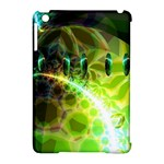 Dawn Of Time, Abstract Lime & Gold Emerge Apple iPad Mini Hardshell Case (Compatible with Smart Cover)