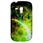 Dawn Of Time, Abstract Lime & Gold Emerge Samsung Galaxy S3 MINI I8190 Hardshell Case