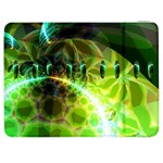 Dawn Of Time, Abstract Lime & Gold Emerge Samsung Galaxy Tab 7  P1000 Flip Case