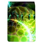 Dawn Of Time, Abstract Lime & Gold Emerge Removable Flap Cover (Large)