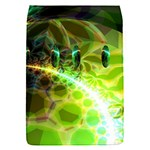 Dawn Of Time, Abstract Lime & Gold Emerge Removable Flap Cover (Small)