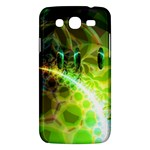 Dawn Of Time, Abstract Lime & Gold Emerge Samsung Galaxy Mega 5.8 I9152 Hardshell Case