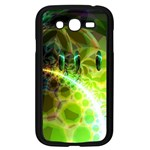 Dawn Of Time, Abstract Lime & Gold Emerge Samsung Galaxy Grand DUOS I9082 Case (Black)