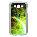 Dawn Of Time, Abstract Lime & Gold Emerge Samsung Galaxy Grand DUOS I9082 Case (White)
