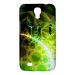 Dawn Of Time, Abstract Lime & Gold Emerge Samsung Galaxy Mega 6.3  I9200 Hardshell Case