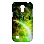 Dawn Of Time, Abstract Lime & Gold Emerge Samsung Galaxy S4 Mini (GT-I9190) Hardshell Case
