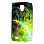 Dawn Of Time, Abstract Lime & Gold Emerge Samsung Galaxy S4 Active (I9295) Hardshell Case