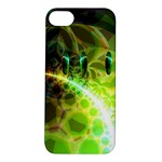 Dawn Of Time, Abstract Lime & Gold Emerge Apple iPhone 5S Hardshell Case