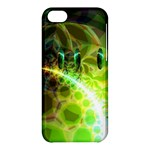 Dawn Of Time, Abstract Lime & Gold Emerge Apple iPhone 5C Hardshell Case