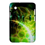 Dawn Of Time, Abstract Lime & Gold Emerge Samsung Galaxy Tab 2 (7 ) P3100 Hardshell Case