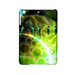 Dawn Of Time, Abstract Lime & Gold Emerge Apple iPad Mini 2 Hardshell Case
