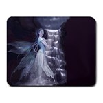 Dark Faery and Night Waterfall Small Mousepad