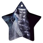 Dark Faery and Night Waterfall Ornament (Star)