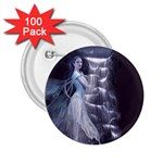 Dark Faery and Night Waterfall 2.25  Button (100 pack)