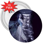 Dark Faery and Night Waterfall 3  Button (10 pack)