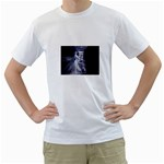 Dark Faery and Night Waterfall White T-Shirt