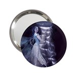 Dark Faery and Night Waterfall 2.25  Handbag Mirror