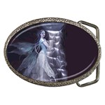 Dark Faery and Night Waterfall Belt Buckle