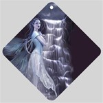 Dark Faery and Night Waterfall Car Window Sign