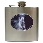 Dark Faery and Night Waterfall Hip Flask (6 oz)