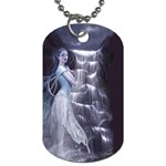Dark Faery and Night Waterfall Dog Tag (Two Sides)