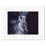 Dark Faery and Night Waterfall Jigsaw Puzzle (Rectangular)