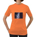 Dark Faery and Night Waterfall Women s Dark T-Shirt
