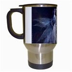 Dark Faery and Night Waterfall Travel Mug (White)