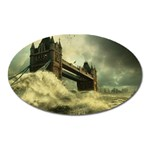 Dark Gothic Apocalypse of Doom Magnet (Oval)