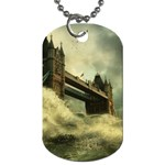 Dark Gothic Apocalypse of Doom Dog Tag (One Side)
