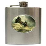 Dark Gothic Apocalypse of Doom Hip Flask (6 oz)