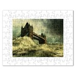 Dark Gothic Apocalypse of Doom Jigsaw Puzzle (Rectangular)