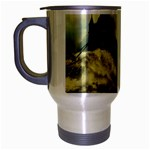 Dark Gothic Apocalypse of Doom Travel Mug (Silver Gray)