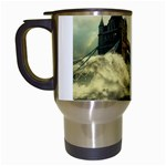 Dark Gothic Apocalypse of Doom Travel Mug (White)
