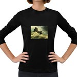 Dark Gothic Apocalypse of Doom Women s Long Sleeve Dark T-Shirt