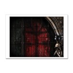 Dark Gothic Gate to the Other Side Sticker A4 (10 pack)