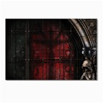 Dark Gothic Gate to the Other Side Postcard 4 x 6  (Pkg of 10)