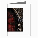 Dark Gothic Gate to the Other Side Greeting Card