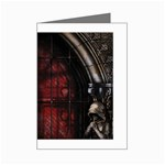 Dark Gothic Gate to the Other Side Mini Greeting Card