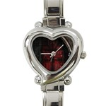 Dark Gothic Gate to the Other Side Heart Italian Charm Watch