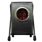 Dark Gothic Gate to the Other Side Pen Holder Desk Clock