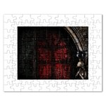 Dark Gothic Gate to the Other Side Jigsaw Puzzle (Rectangular)