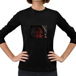 Dark Gothic Gate to the Other Side Women s Long Sleeve Dark T-Shirt